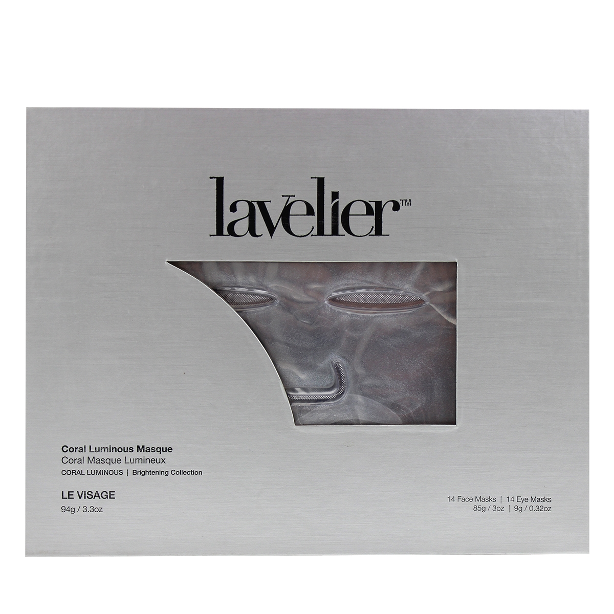 Lavelier Coral Luminous Masque Box Front