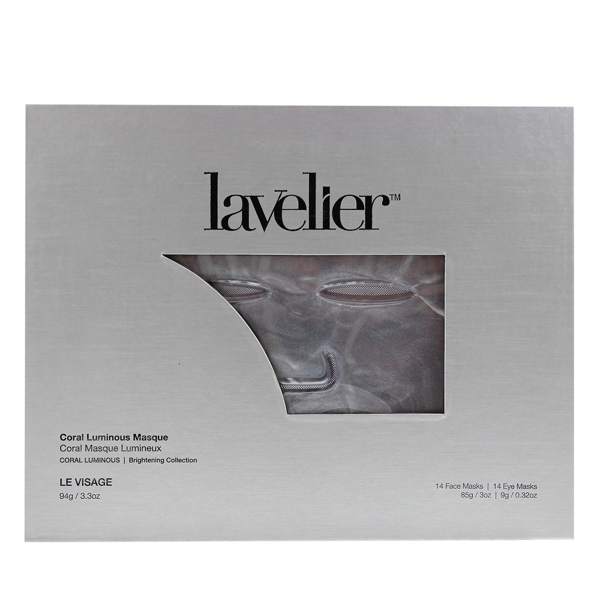 Lavelier Coral Luminous Masque Box Front