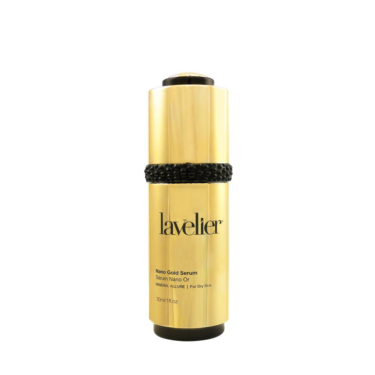 Lavelier Mineral Allure Nano Gold Serum Bottle Front