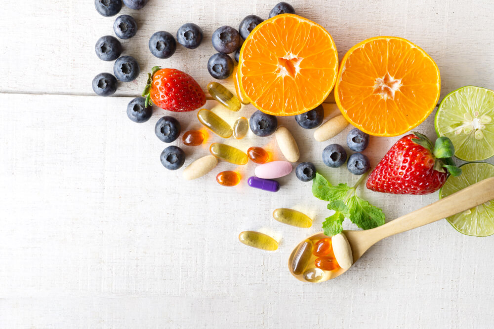 Fruits and supplements